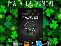¡Ya ha llegado el día! :D Ya está a la venta la historia de mi asturiana. Espero que os guste muchísimo.  #DestruyendoMisSombras. Descubre una historia intensa, conmovedora, repleta de suspense, amor, erotismo y amistad. #Ebook #Zafiro #EditorialPlaneta #ALaVenta #NovelaRomántica #Booktrailer:https://www.youtube.com/watch?v=aaUGndG7fBo #Lee el primer capítulo: https://loleslopez.wordpress.com/2016/07/18/primer-capitulo-destruyendo-mis-sombras/ #Amazon…
