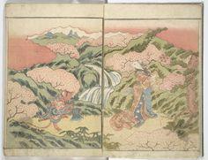 """Stories of a fortunate rat,vol1."" By Akatsuki noKanenari, 1827. Metropolitan Museum of Art (New York, N.Y.) Japanese Illustrated Books. #japanese#illustrations"