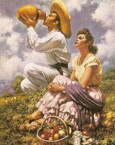 Obras Mexicanistas del pintor Jesús Helguera » Cultura / Foros #Torreón