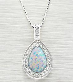 sparkly pendant.