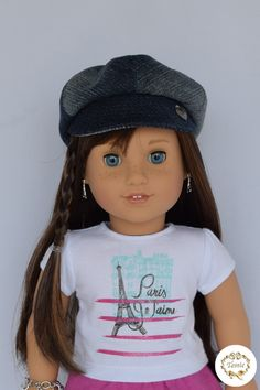 American girl doll clothes  Hat  by PricessPrincess on Etsy