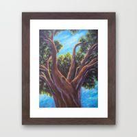 A Tree Grows in Almeria AC151025a-13 Framed Art Print