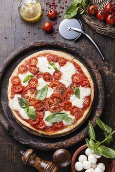 Grilled Gluten Free Caprese Pizza
