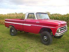 1965 chevy k20 4x4 truck
