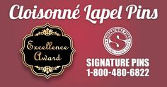 When it comes to winning over new customers or gaining the trust of new members, nothing makes a better first impression than a Cloisonné lapel pin. www.signaturepins.com #SignaturePins #CloisonneLapelPins #BestFirstImpression