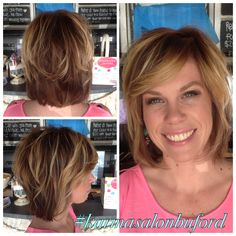 Amazing cut and color by the Karma Krew! #karmasalonbuford