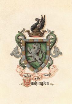 President Washington's coat of Arms