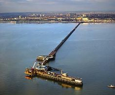 Southend On Sea Pier, Longest in the World. 1974  I actually fished off the end of this on the bottom level, yes there is a bottom level.