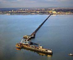 Southend On Sea Essex England is the world's longest pleasure pier. It also has a train!
