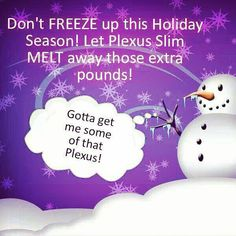 So glad I have Plexus to get me through this holiday season!!! I actually lost weight after Thanksgiving!!! :)