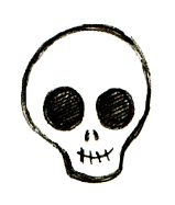 How to Draw Skulls: Easy Step-by-Step Instructions for Drawing Nine Different Skulls!