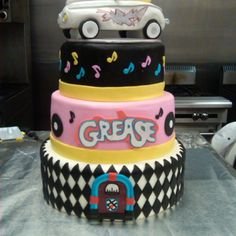 Grease cake!! How AWESOME!!