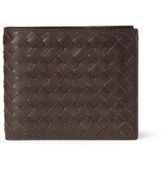 Bottega VenetaIntrecciato Leather Billfold Wallet
