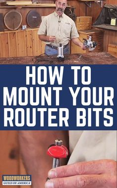 It is possible to mount a router bit incorrectly in your router collet, and that can spell disaster for your woodworking project. George Vondriska shows you how to properly insert and clamp router bits into your router.