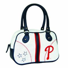 MLB Philadelphia Phillies Ethel Bowler Handbag by Concept 1. $18.35. The bowler is a retro-inspired handbag that gives women a chic yet casual look while sporting their favorite MLB team.. Save 27%!