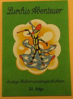 Lurchi - mascot for Salamander Shoes