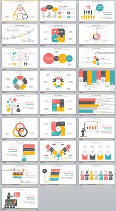 Business infographic : 25 Infographics Slides PowerPoint templates on Behance # Slides Powerpoint, Powerpoint Slide Designs, Infographic Powerpoint, Powerpoint Design Templates, Powerpoint Charts, Presentation Design Template, Presentation Layout, Creative Powerpoint, Infographic Templates