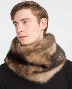 Image 1 of from Zara Fur Fashion, Mens Fashion, Mens Fur, Fur Accessories, Fashion Catalogue, Zara Man, Men's Collection, Latest Trends, Furs