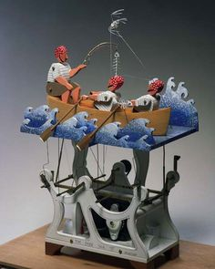 Cabaret Mechanical Theatre - THE HOMEPAGE! - Museum of automata (mechanical sculpture). humourous machines come to life at touch of button. Free To Use Images, Kinetic Art, Cabaret, Wood Toys, Diy Wood Projects, New Art, Touring, Diy Design, Theatre
