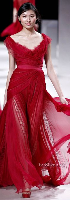 Elie Saab Haute Couture Spring Summer 2011 Collection evening gown