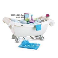 Bathtub Shower American Girl Furniture Bubble Bathtub Shower American