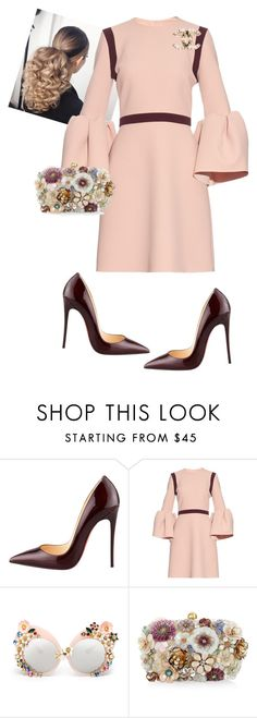"""I Love Sunday's"" by cogic-fashion ❤ liked on Polyvore featuring Christian Louboutin, Roksanda and Accessorize"