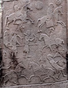 Pictish Stone at Aberlemno Church Yard - Battle Scene Detail. The Battle of Dun Nechtain or Battle of Nechtansmere was fought between the Picts, led by King Bridei Mac Bili, and the Northumbrians, led by King Ecgfrith on 20 May Celtic Culture, Celtic Art, Celtic Crafts, Celtic Dragon, Anglo Saxon, Picts, British History, European History, Roman History
