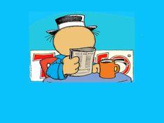 Un cafecito y el periódico...