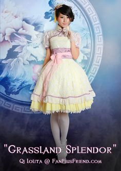 Photo Vol 43: New Wa and Qi Lolita, Japan and China culture inspired outfits - Fanchaos Forums
