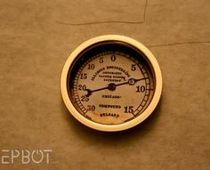 DIY Steampunk Gauges look for clocks, gauges, barometers, thermometers, gears, copper tubing, studded leather, test tubes, anything old and scientific looking.