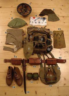 Japanese field kit