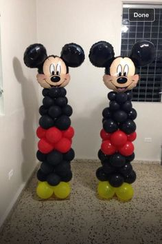 Mickey Mouse Birthday Party IdeasThrowing a birthday party for your loved one can be so much fun but we have to admit that it requires a lot of hard work too most especially if the upcoming birthday celebration is for a KID. For adults,& Mickey Mouse Theme Party, Mickey Mouse Decorations, Fiesta Mickey Mouse, Mickey Mouse Clubhouse Birthday Party, Balloon Decorations, Bolo Da Minnie Mouse, Mickey Mouse Baby Shower, Mickey Mouse 1st Birthday, First Birthdays