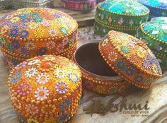 caixinhas Kashmere, decoração indiana, bohostyle, decoração étnica (8)