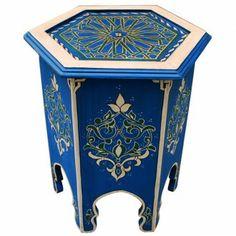"reduziert: orient teetisch ""baida_k"". sechseckiger marokkanischer, Moderne"
