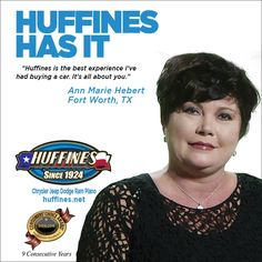 You deserve the best, you deserve to shop at Huffines.  #HuffinesHasIt