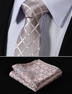 Cheap handkerchief set, Buy Quality mens ties directly from China square tie Suppliers: Party Wedding Classic Pocket Square Tie Pure Beige Check Silk Woven Men Tie Necktie Handkerchief Set Putting On The Ritz, Tie And Pocket Square, Pocket Squares, How To Make Tea, Keep Warm, Blue Stripes, Navy Blue, Slim, Mens Fashion