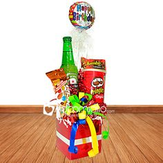 Food Bouquet, Hamper, Felt Crafts, Happy Birthday, Basket, Baby Shower, Rainbow, Candy, Toys