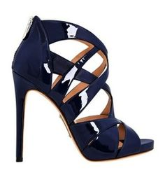 I really do love navy shoes