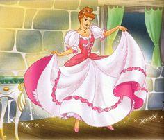 A Gata Borralheira book cover illustrated by Jean-Léon Huens Disneyland Princess, Disney Princess Fashion, Disney Princess Art, Disney Princess Dresses, Disney Fan Art, Disney Dream, Disney Style, Disney Love, Cinderella Wallpaper