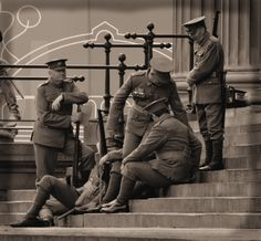 """The"""" Pals"""" St George's plateau Liverpool"""