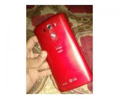 LG G3 32GB Memory Red Color Excellent condition For Sale in Karachi