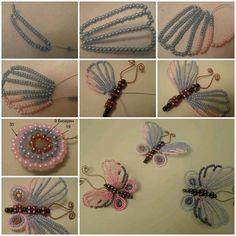 DIY Perlen Schöne Schmetterlinge 1