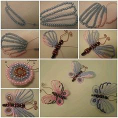 DIY Beautiful Beaded Butterflies
