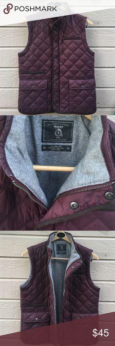 Maker & company men's medium nylon vest plum Men's medium or women's large never worn from Nordstrom Maker & company Jackets & Coats Vests