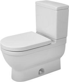 Duravit Starck Elongated Toilet Bowl Only 2125010000 White Alpin