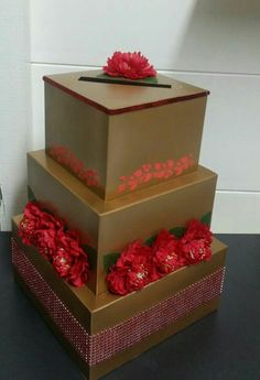 Handmade envelope box