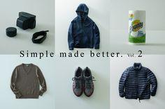 日常を豊かにする服とモノの話。