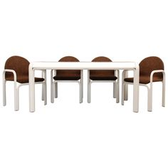 Dining Set by Gae Aulenti  for Knoll Intn'l. Ca.1975