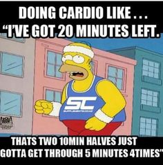 This is exactly how I break down my cardio sessions. If its time related, I break it down in minutes. If it rowing, I will break it down to metre segments. Swimming gets broken down into lengths of the pool. The things we do to help the mind get through things.