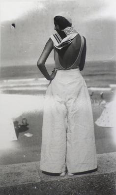 Renée Biarritz, agosto 1930, Photo: J.H. Lartigue © Ministère de la Culture - France / A.A.J.H.L.